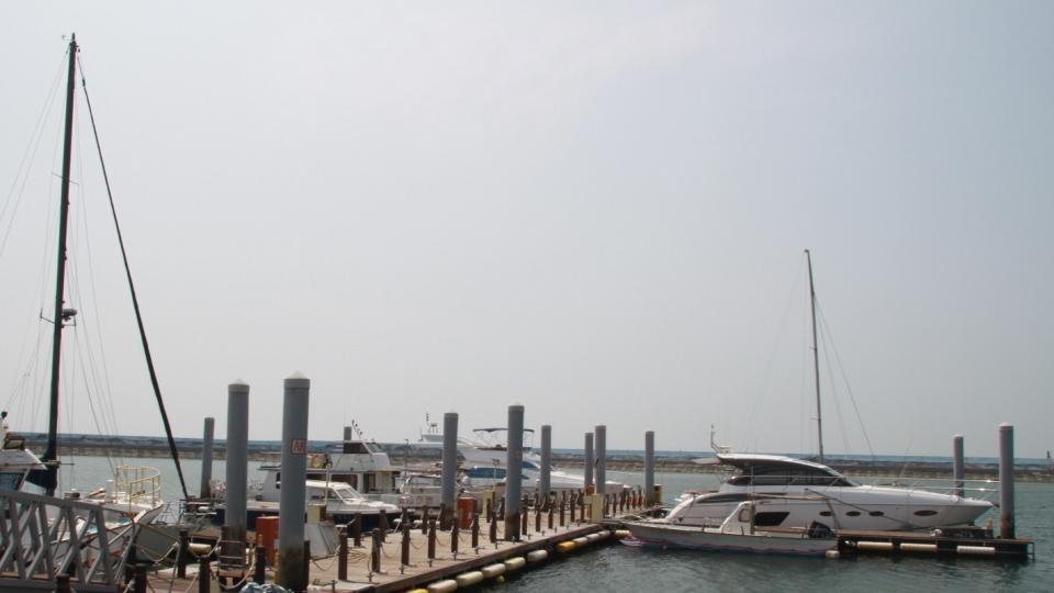 資料照 布袋遊艇港。 記者卜敏正/攝影