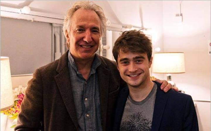飾演哈利波特的丹尼爾雷克里夫在臉書上PO出合照哀悼。圖/摘自臉書