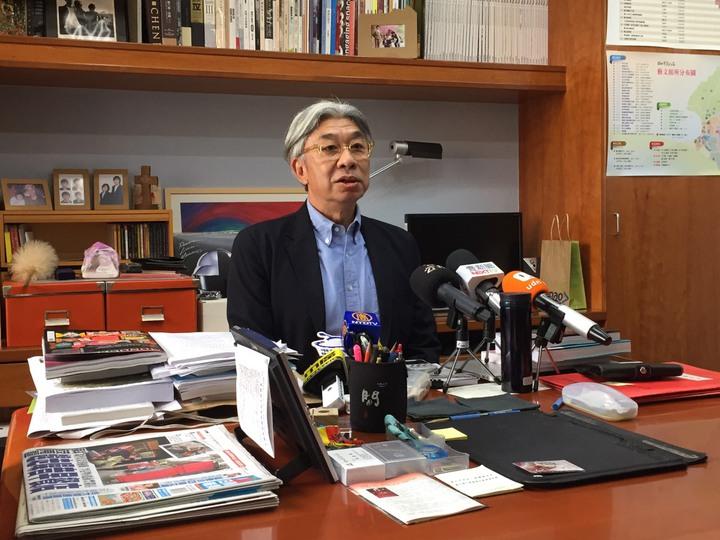 北市文化局長倪重華昨天辭職後,至今未進辦公室,他以電子郵件發出告別信,對員工表示歉意。圖/本報資料照