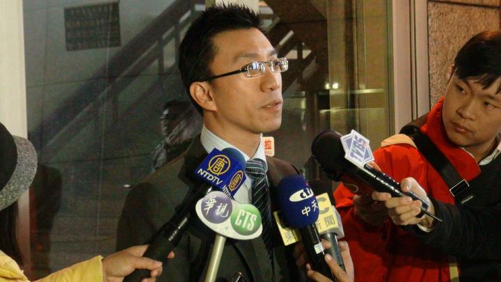 頂新案被告魏應充今出庭二審應訊,律師余明賢(圖)替他辯護,表示信心滿滿。記者宋柏誼/攝影