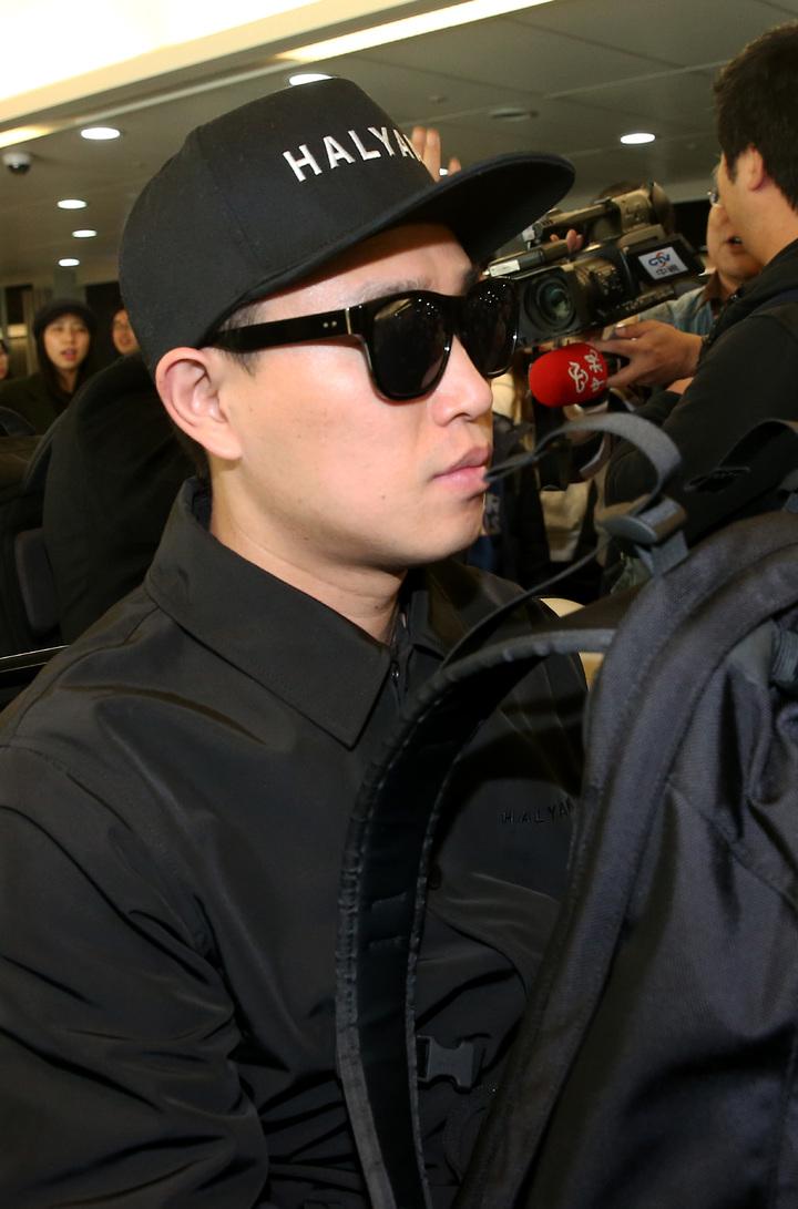 南韓藝人Gary。記者陳嘉寧/攝影