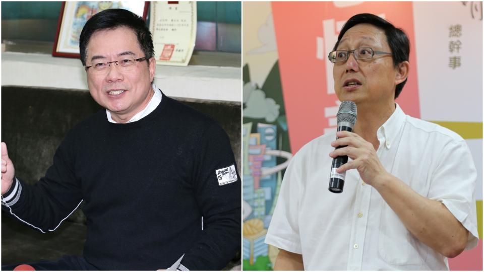 (左)蔡正元(右)姚立明。資料照片 (左)記者余承翰(右)記者魏莨伊/攝影