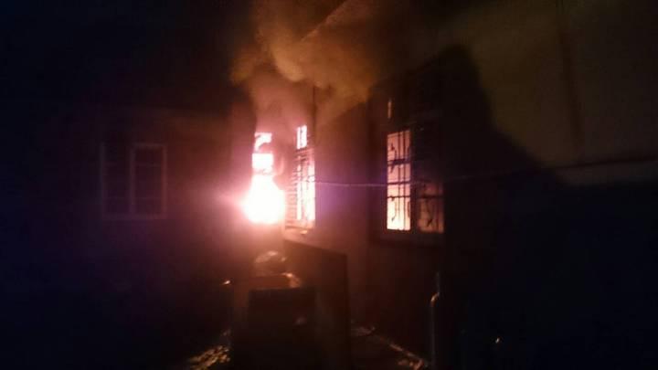 桃園龍潭發生民宅縱火,造成五人死亡。圖/消防局提供