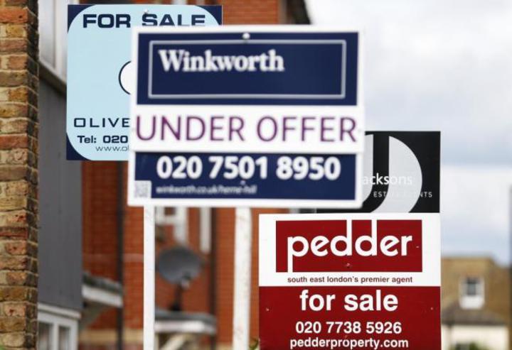 最新資料顯示,英國2月房價仍持穩,僅較1月微增0.3%。(網路照片)