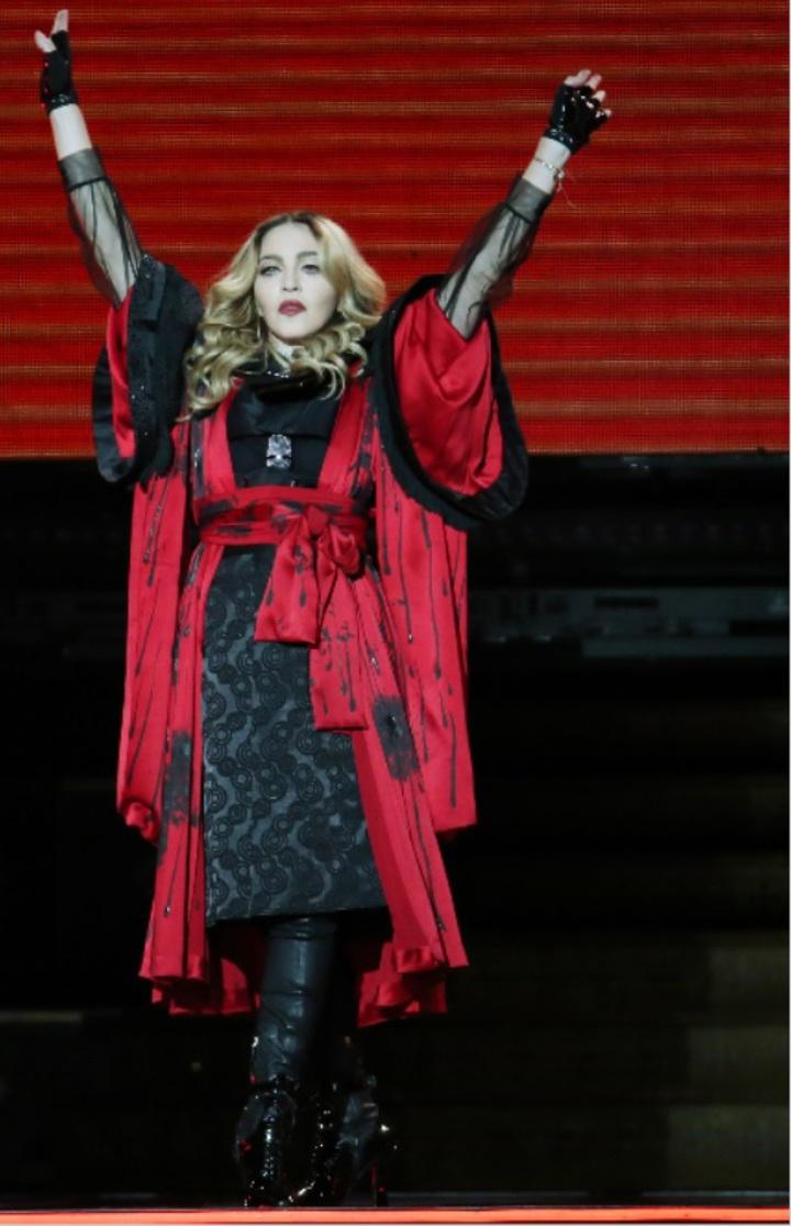 瑪丹娜為爭回兒子,不惜一切代價。圖/記者陳瑞源攝影