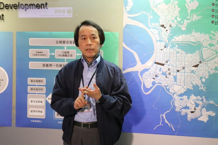 北市副市長林欽榮今表示,未來都更爭議若涉及市府代拆,將上簽至市長,由市長指派主席並實施代拆。記者邱奕寧/攝影