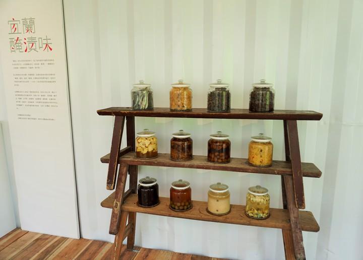 味覺體驗區有地方耆老古法製作的醃漬品,民眾可品嘗到酸甜苦辣不同滋味。記者吳佩旻/攝影