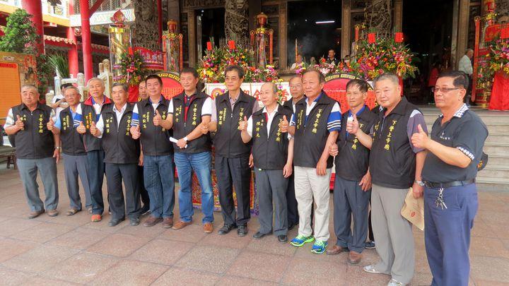 下營上帝廟今天宣布推出一系列創建355周年慶祝活動。記者周宗禎/攝影