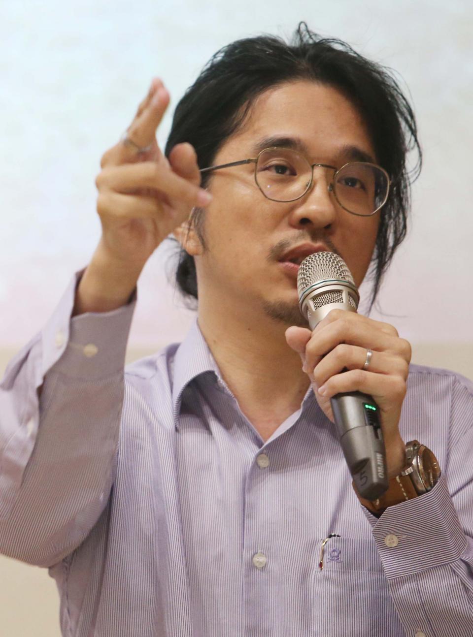 資料照片 台大教授葉丙成。記者林俊良/攝影
