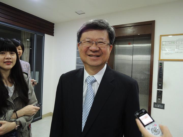 清大校務會議昨通過和新竹教大併校案,教育部長吳思華上午表示祝福、樂觀其成。記者張錦弘/攝影