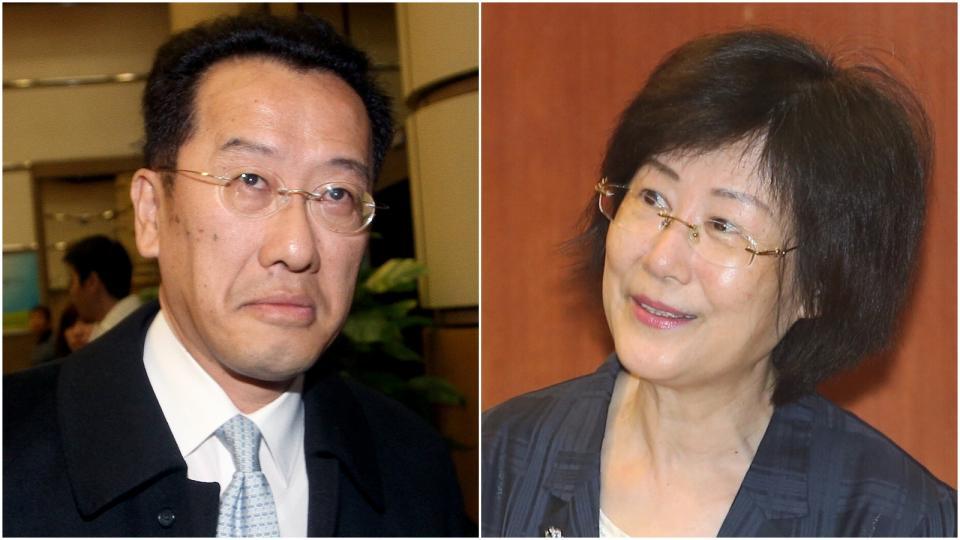 資料照片 (左)顧立雄。記者余承翰/攝影 (右)法務部長羅瑩雪。記者陳易辰/攝影。