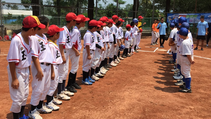 高泰夢想盃棒球賽開打3年,參賽的孩子都有一個打球的夢。記者翁禎霞/攝影