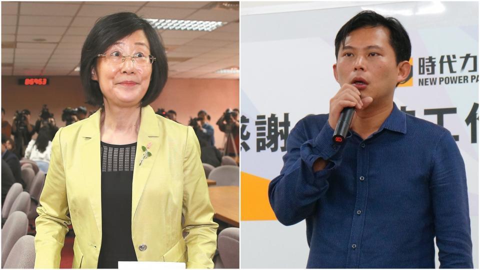 資料照片 (左)羅瑩雪。記者高彬原/攝影(右)黃國昌。記者林伯驊/攝影