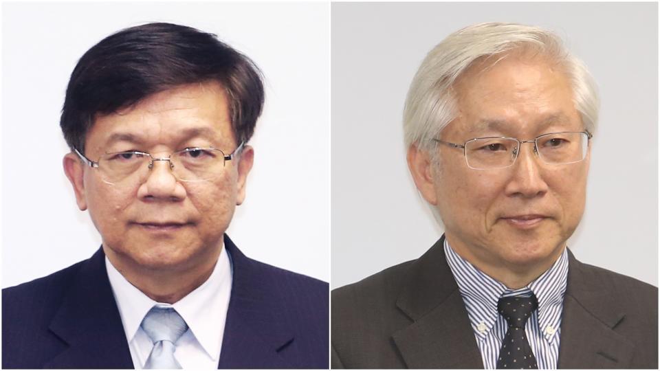 資料照片 (左)李世光。(右)吳政忠。記者林俊良/攝影