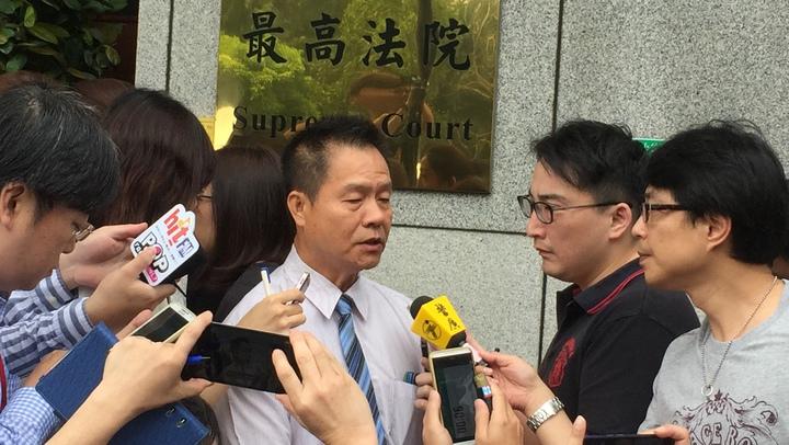 死者潘碧珠先生邱木森對判決結果表示,台灣還是有司法正義。