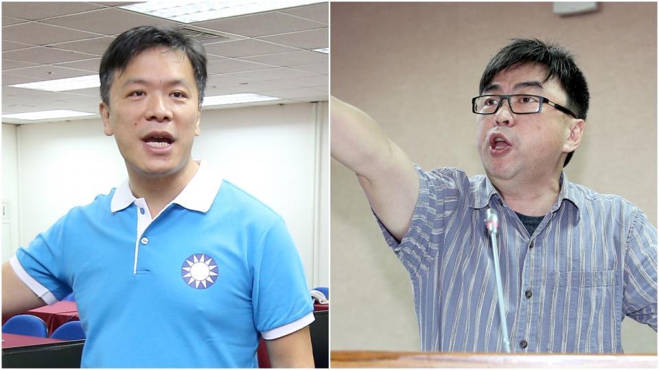 資料照片 (左)游梓翔。記者余承翰/攝影(右)段宜康。記者高彬原/攝影