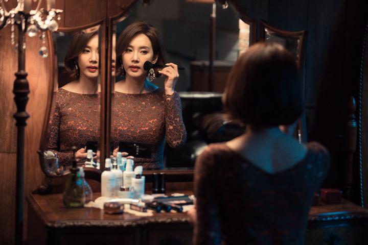 吳賢慶「魔女,不哭」中飾演一路壞到底的惡女。圖/東森提供