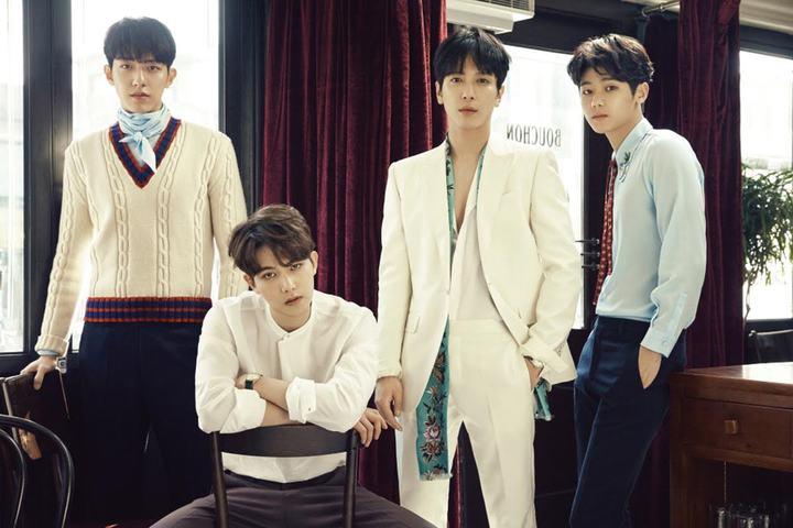 韓團CNBLUE時隔7個月,攜最新韓語6輯「Blueming」回歸。圖/華納提供