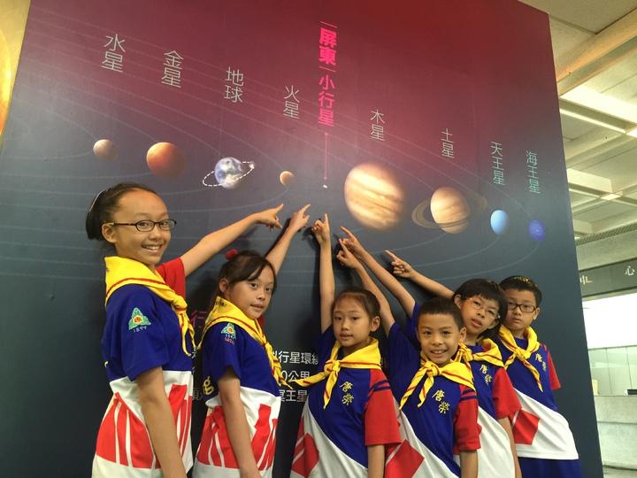 「屏東」小行星距離地球至少2.8億公里。記者翁禎霞/攝影