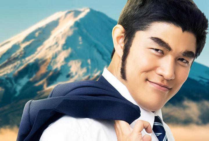 鈴木亮平在電影「俺物語!!」扮演猛男。圖/采昌國際多媒體提供