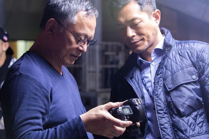 閉幕片「三人行」為杜琪&#23791(左)執導,古天樂(右)主演。圖/台北電影節提供