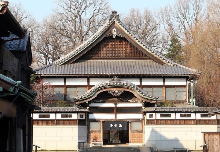「神隱少女」千尋工作的湯屋場景靈感來源,來自於江戶東京建物園的「子宝湯」。記者陳瑞源/攝影