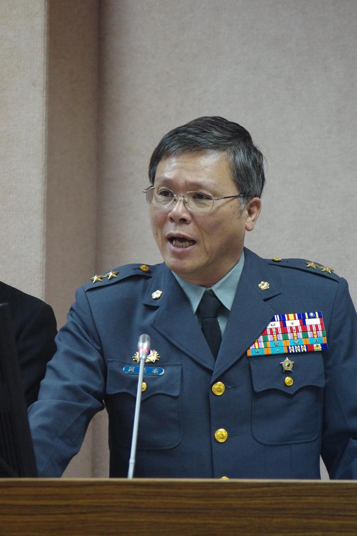 新任10 軍團指揮官周皓瑜中將。記者程嘉文/攝影