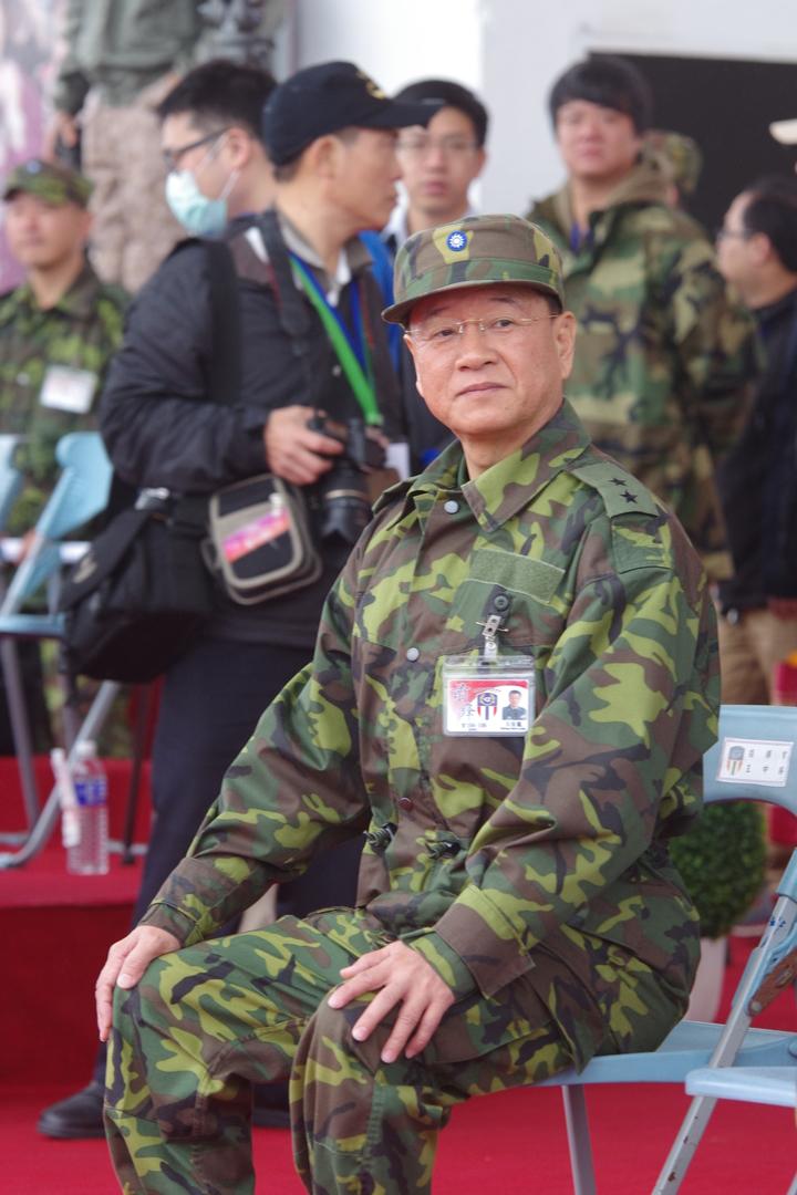 新任副參謀總長王信龍中將。記者程嘉文/攝影