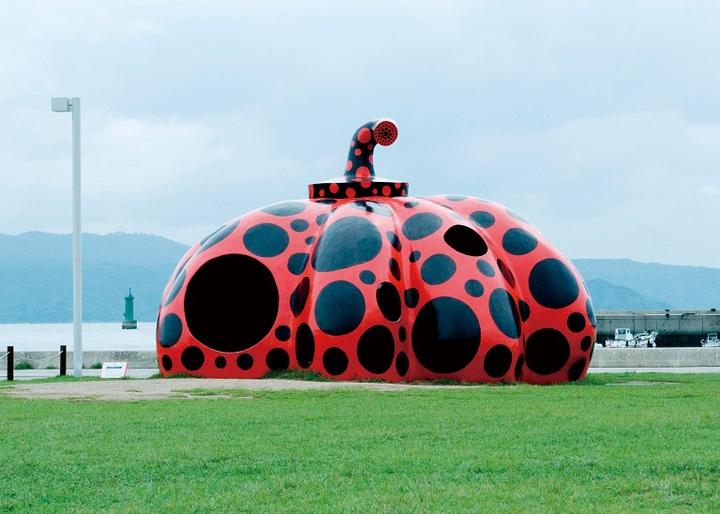 旅客至岡山也可走訪瀨戶內海各島上的藝術作品。圖/台灣虎航提供