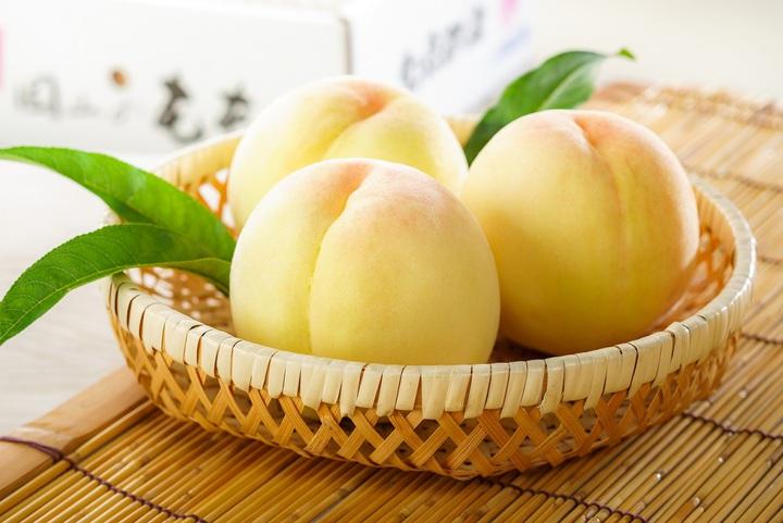 岡山的白桃有名。圖/台灣虎航提供