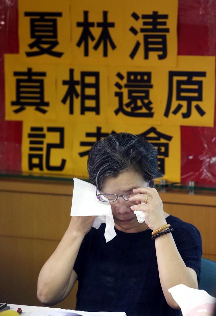 私立大學性侵案 夏林清要求道歉。記者曾吉松/攝影