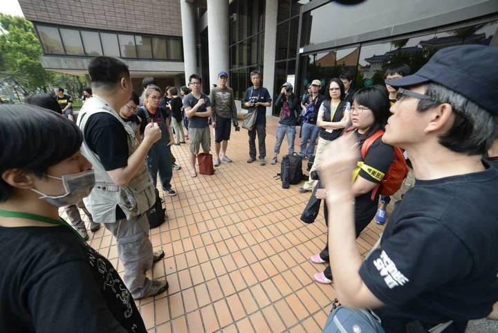 台北市紀錄片工會成員關注台灣各式社會運動。圖/台北電影節提供