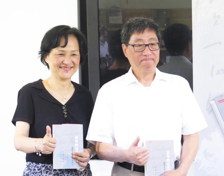 北一女校長楊世瑞(左)、香港城市大學校長。記者王彩鸝/攝影