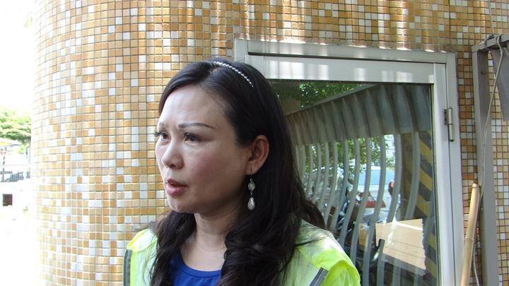 台南市議員林燕祝表示將會女童及家長討回公道。記者謝進盛/攝影