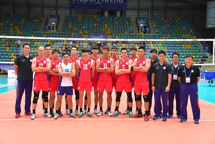 中華隊首次踏上世界男排聯賽決賽舞台。   圖/取自FIVB