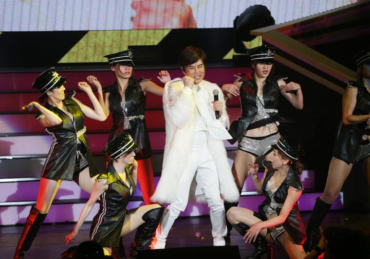 陽帆昨天舉辦「再一次相見」演唱會。記者陳瑞源/攝影