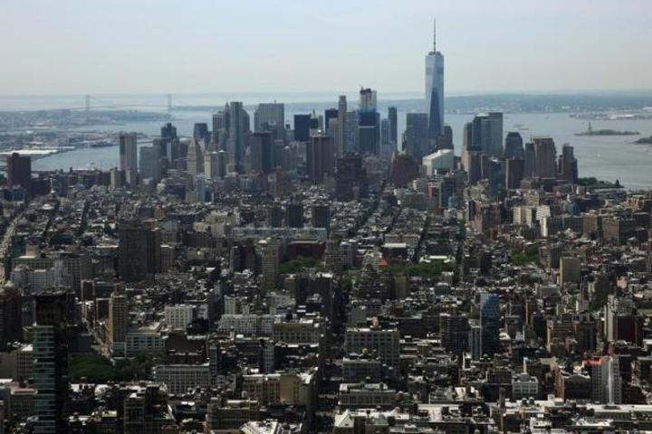 美國經濟活動持續擴張,第二季的商辦空置率降至七年低點的16%。(路透)