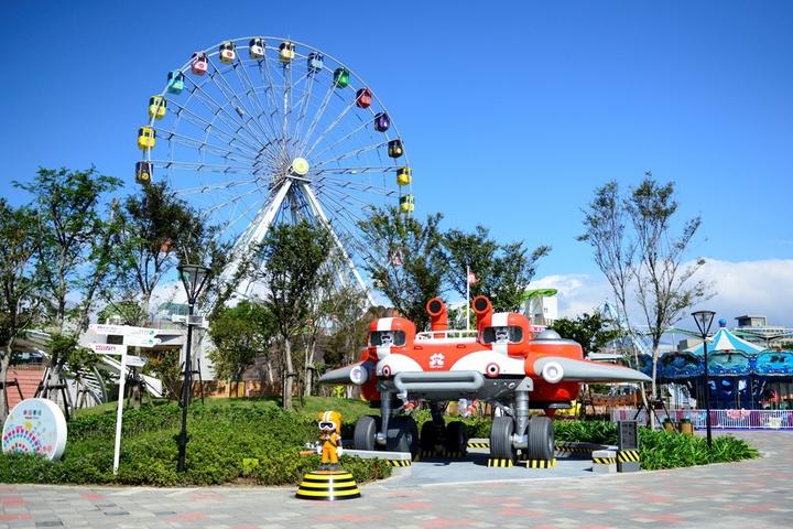兒童新樂園在14日至18日期間,將舉辦夏日戲水Party。圖/捷運公司提供