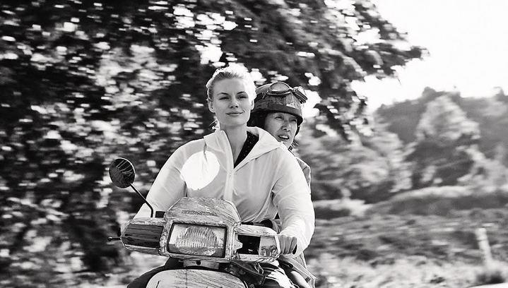 德國影后羅莎莉托馬斯為演出電影「春風捎來的問候」,跑去日本福島災區拍戲。圖/海鵬提供