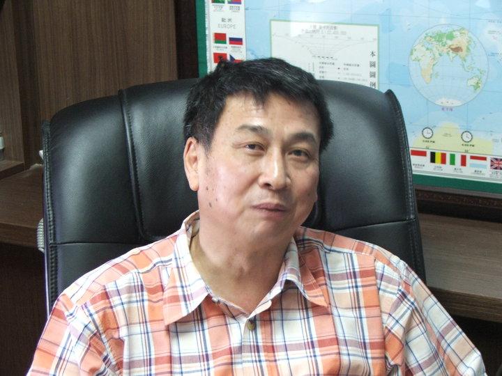 琉球區漁會總幹事蔡寶興。本報資料照片