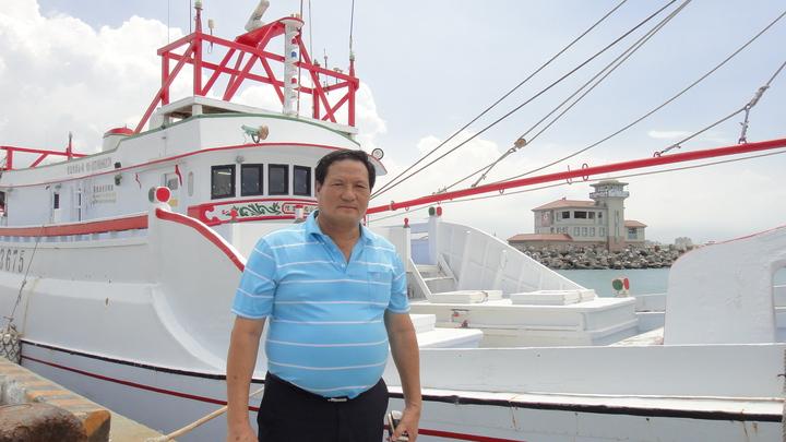 鄭姓船東號召發起東港漁民登太平島宣示主權的行動。記者蔣繼平/攝影