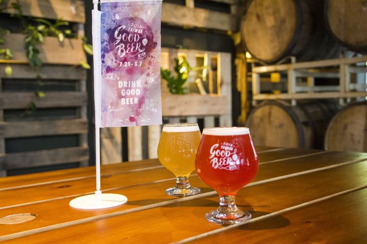 針對啤酒週活動,本土酒廠啤酒推出柏林小麥聯名精釀啤酒。圖/臺虎精釀提供