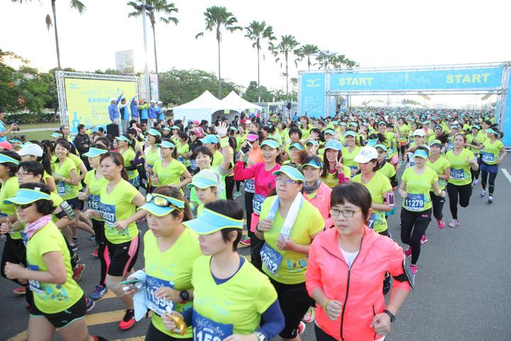 美津濃Mizuno女子路跑,周四開發報名。圖/Mizuno提供