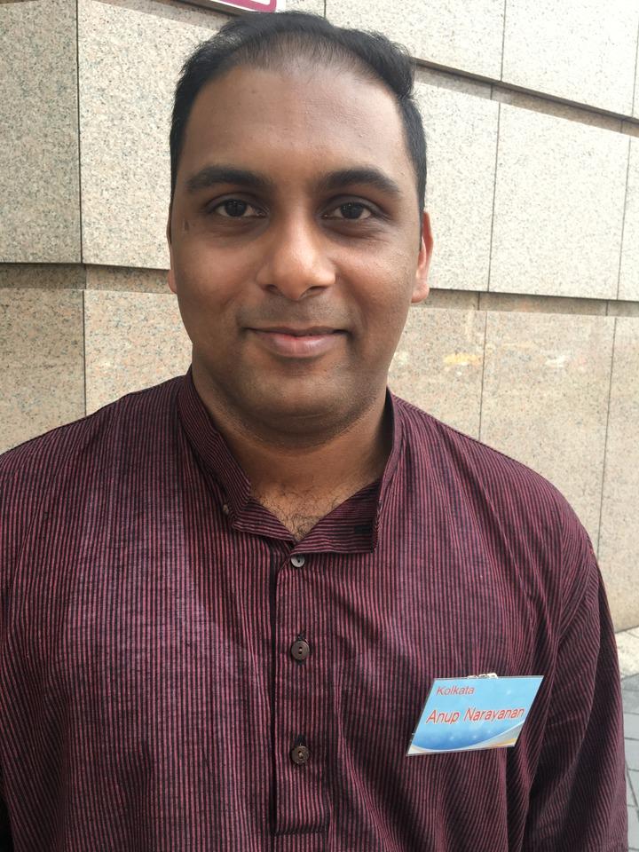 加爾各答專案經理Anup Narayanan曾經在印度當地貿易公司負責化學與礦物進出口工作,這一週飛到台灣,拜訪台商,親身了解商品。他認為,跟印度人做生意,的確需要多花一點時間,因為印度人希望是長期的生意關係。記者高詩琴/攝影