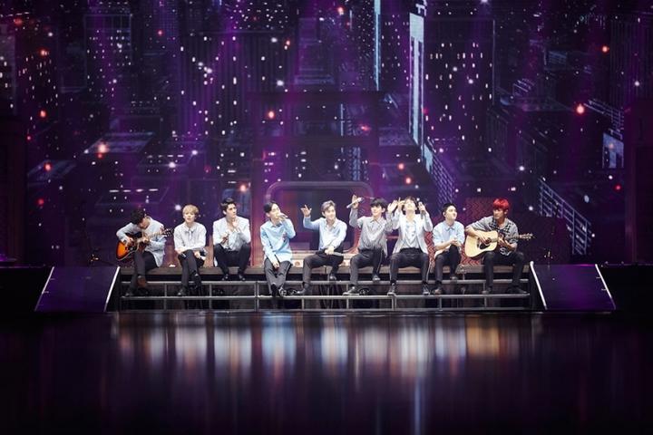 EXO一連兩周在首爾奧林匹克體操競技場舉辦6場演唱會,創下該場地紀錄。圖/SM提供