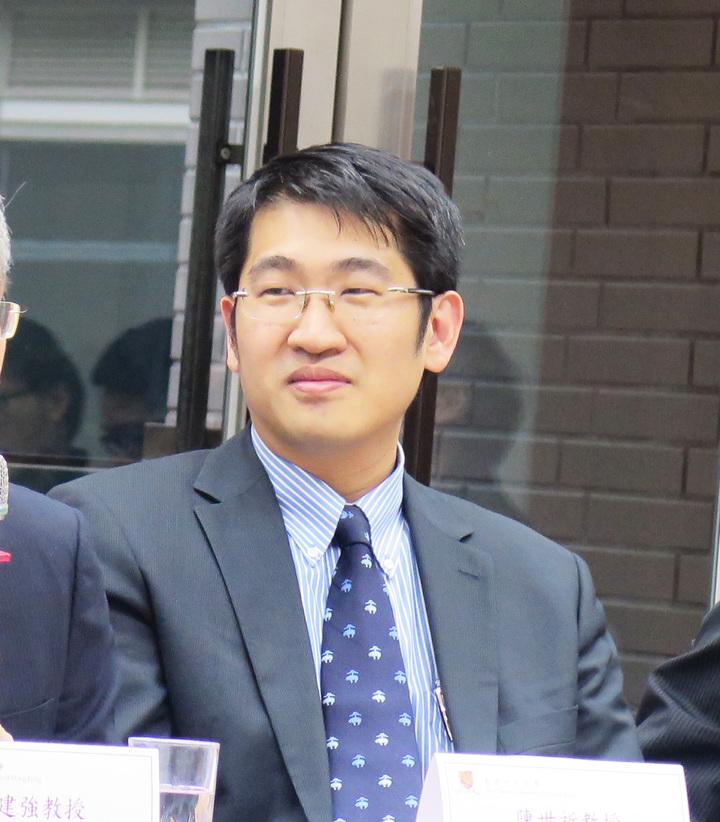 香港中文大學機械與自動化工程學系助理教授陳世祈,清大畢業、六年時間拿到美國麻省理工學院(MIT)碩博士學位。記者王彩鸝/攝影