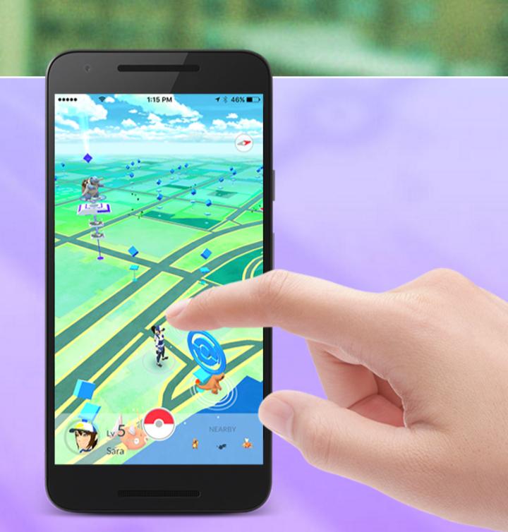 「精靈寶可夢」結合AR(擴增實境)與電子地圖,搭配不少人童年回憶的卡通主題,在全球掀起熱潮。圖/取自Pokemon Go官網