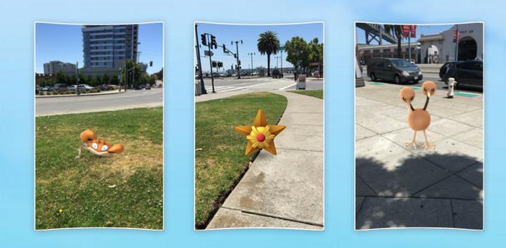 走出戶外會到更多的怪獸,這就是「精靈寶可夢」的迷人之處。圖/取自Pokemon Go官網