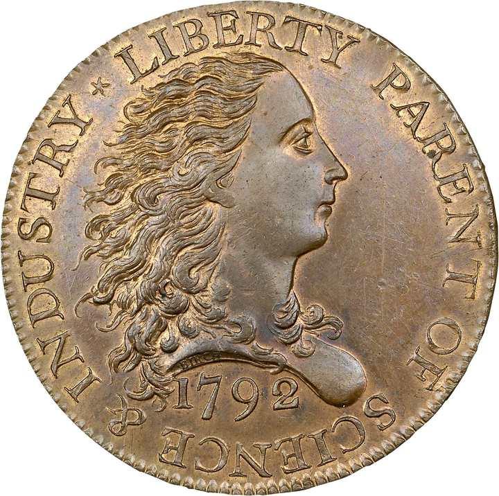 價值連城的1美分硬幣。路透