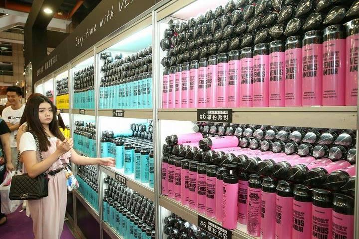 VENUS AMOUR香水洗髮精。記者陳立凱/攝影